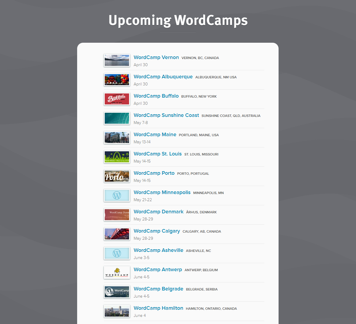 wordpress worldcamps