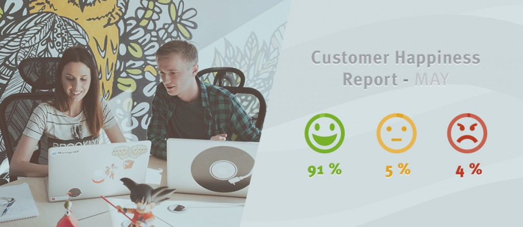 customer happiness report may