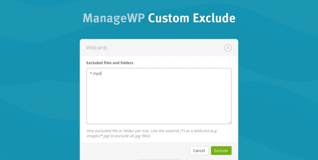 custom-exclude