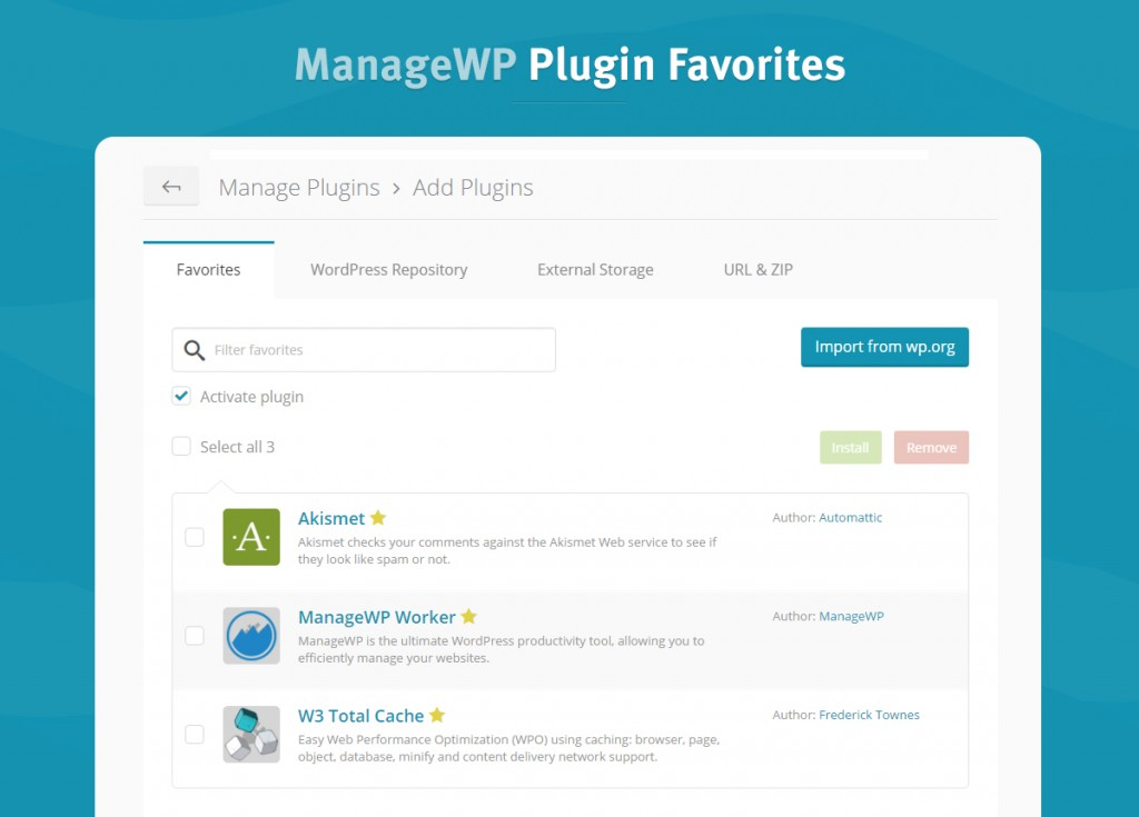 plugin-favorites