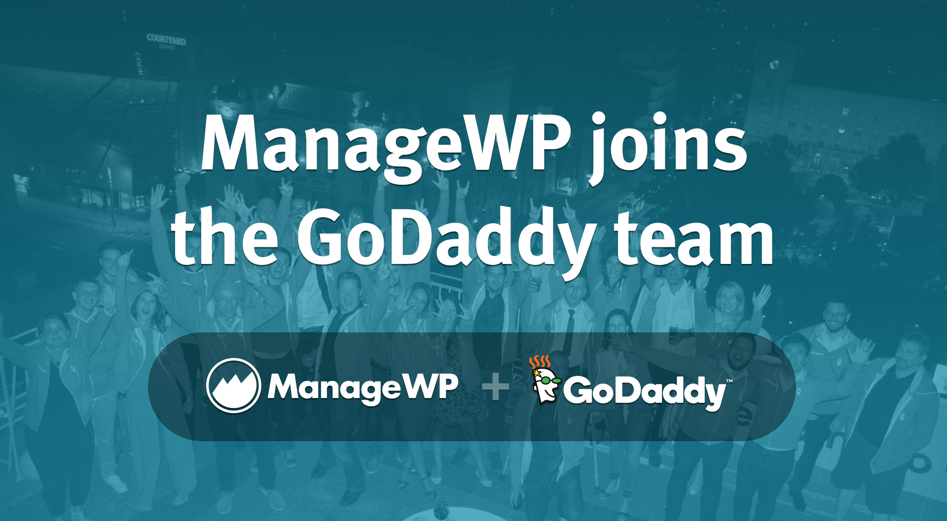 ManageWP Joins GoDaddy - ManageWP