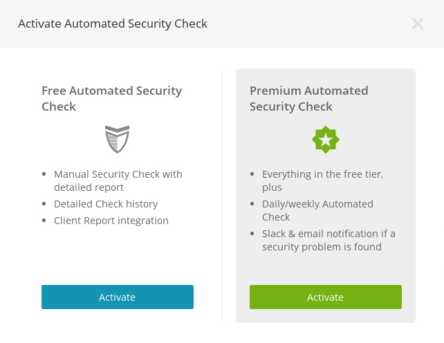 Automated Security Check