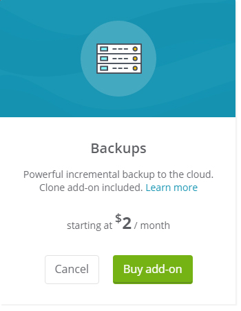 Multisite websites backup
