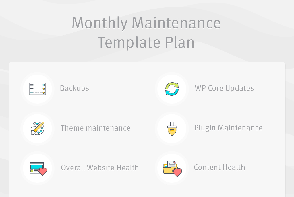Monthly Maintenance Plan
