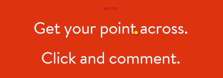 Red Pen - Team Communication Tool