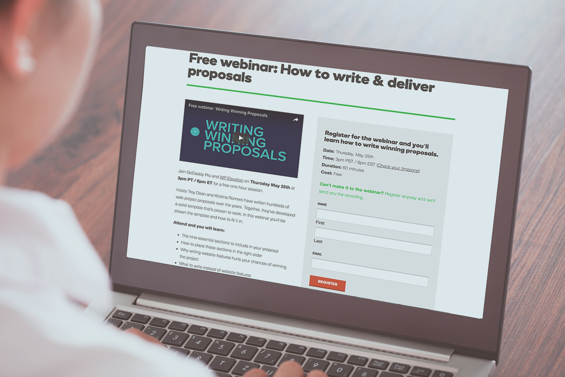 How to write & deliver proposals