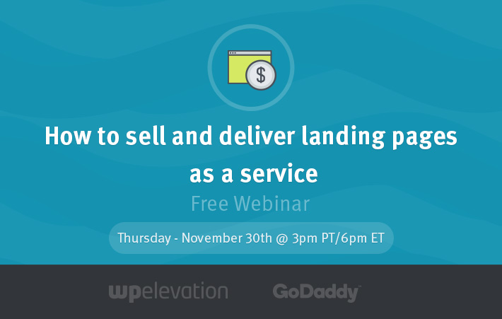 sell and deliver landing pages