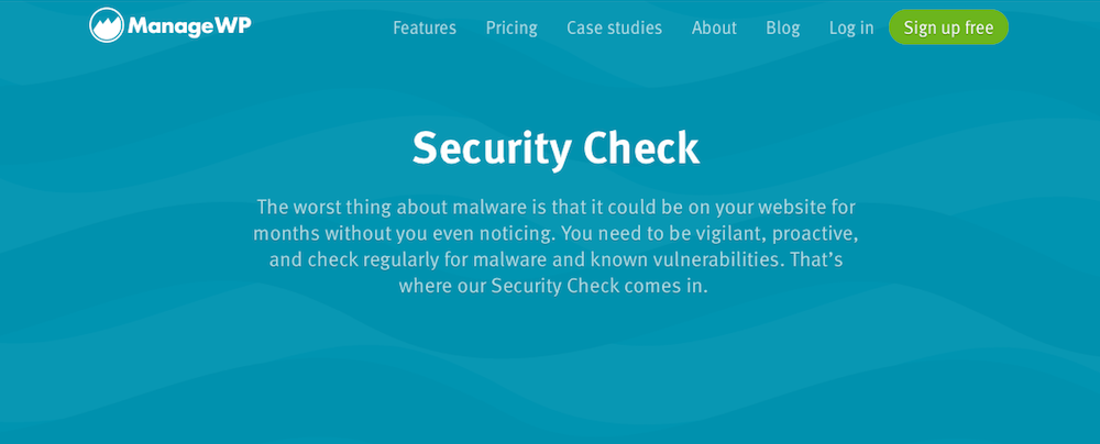 ManageWP Security Check