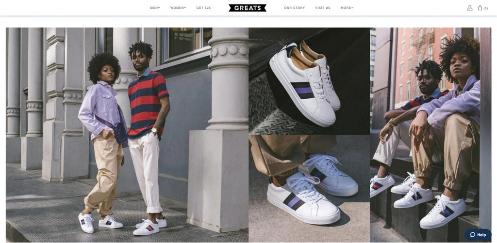 Greats Website
