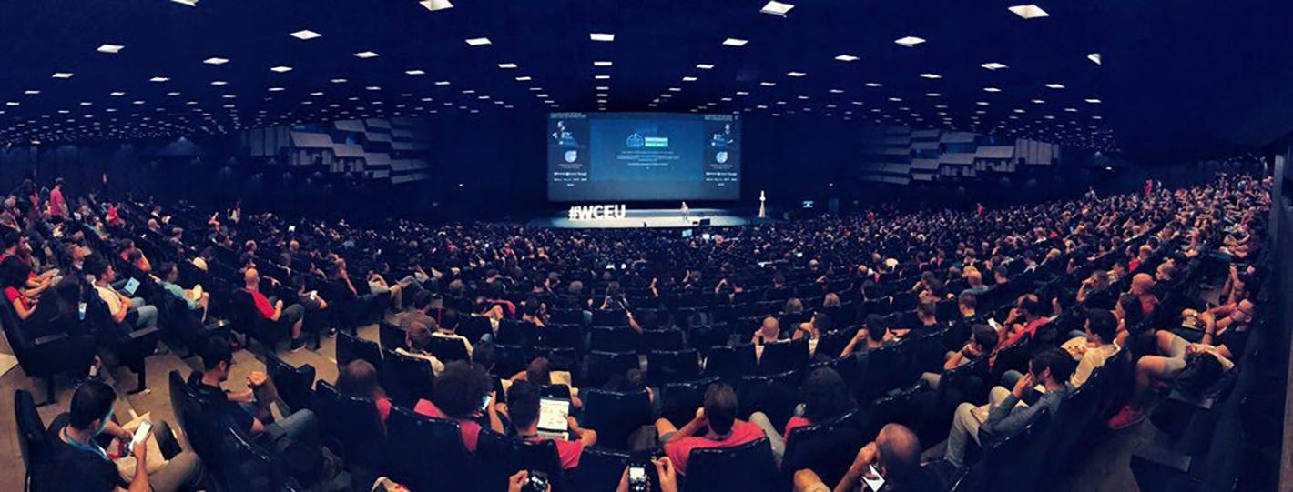 WordCamp Europe 2018 Main Stage
