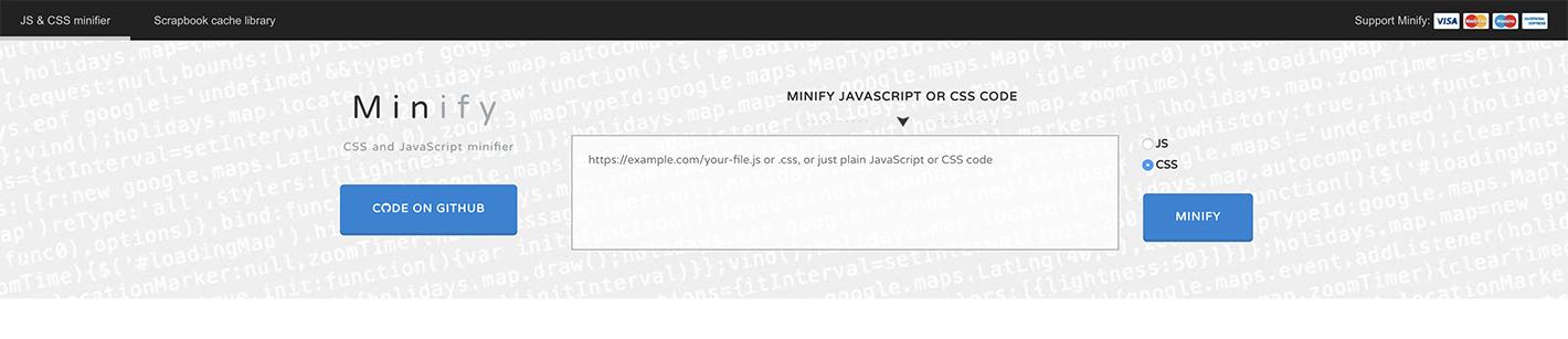 Minify