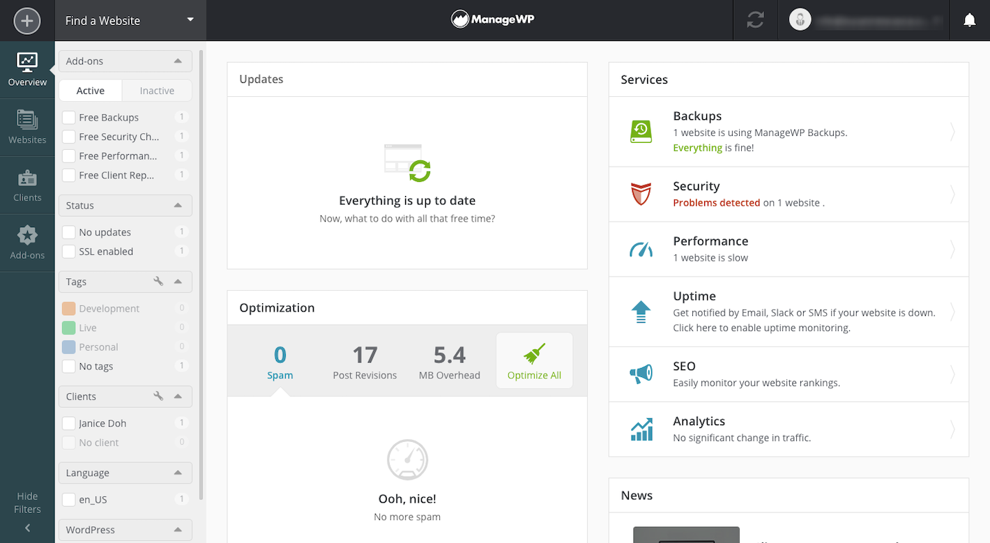 How to Run a Better WordPress Agency Using ManageWP - ManageWP