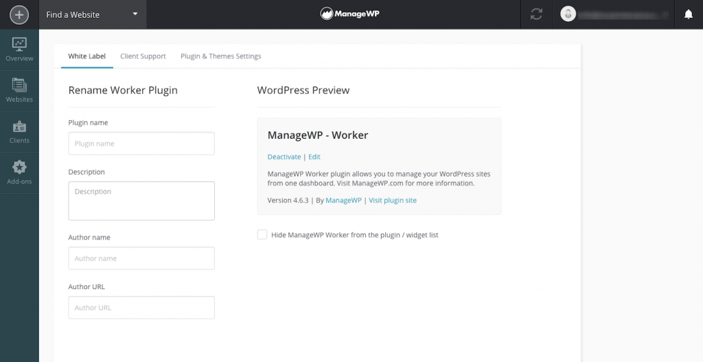 How to Run a Better WordPress Agency Using ManageWP - Manage