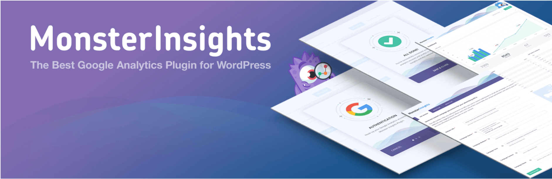 The Google Analytics plugin by Monster Insights.