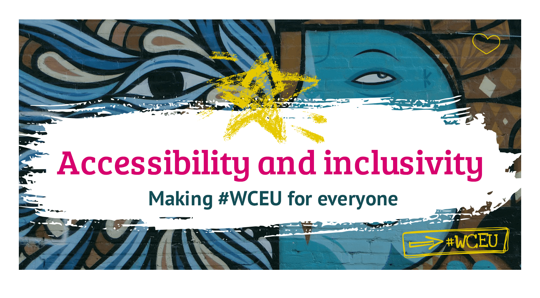 The WordCamp Europe 2019 Accessibility and Inclusivity page.