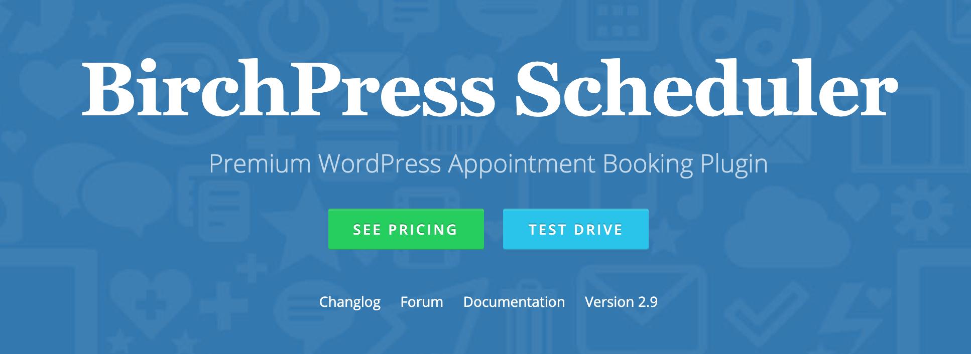 The BirchPress Scheduler plugin.