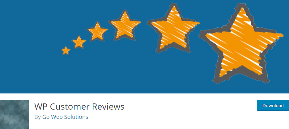 The WP Customer Reviews plugin.