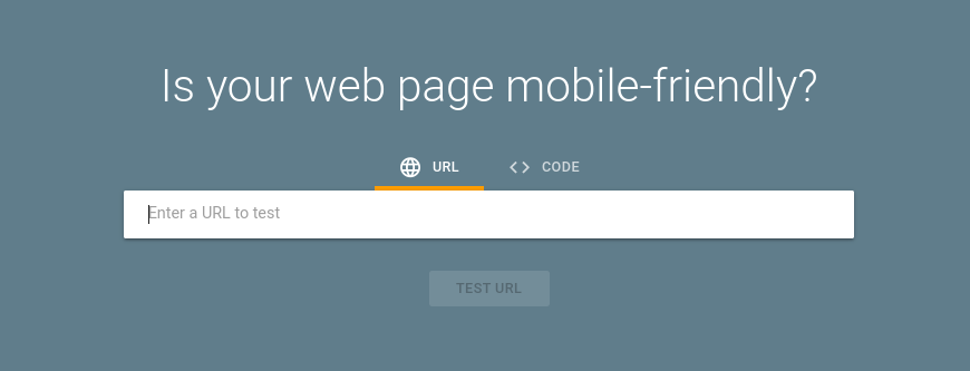 Google's Mobile-Friendly Test Tool.