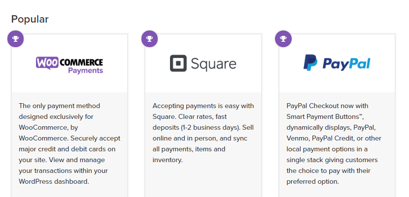 Adding new payment processors to your WordPress store.